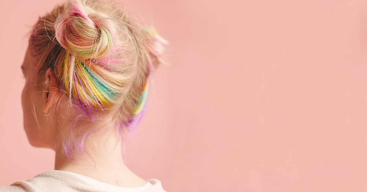 Rainbow Hair 38 Things To Know About Diy Color Dyes Styles More