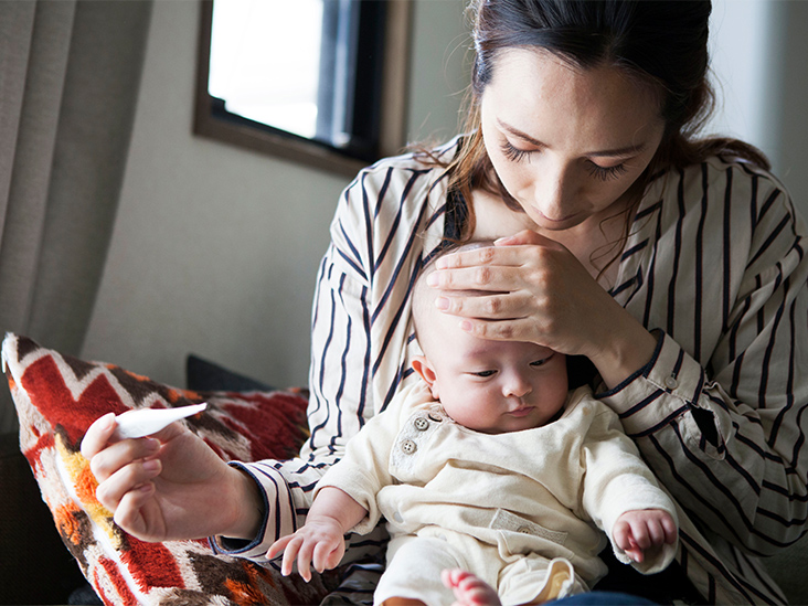 How to Bring Down Baby Fever: Tips, When to Seek Help, More