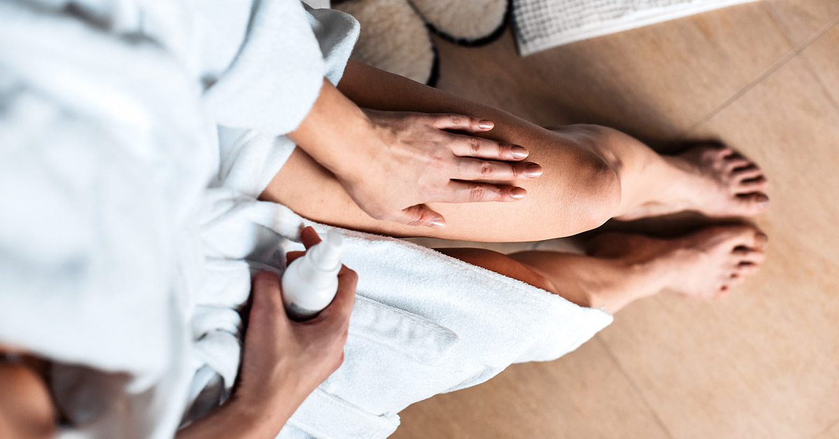 dry body skin treatment