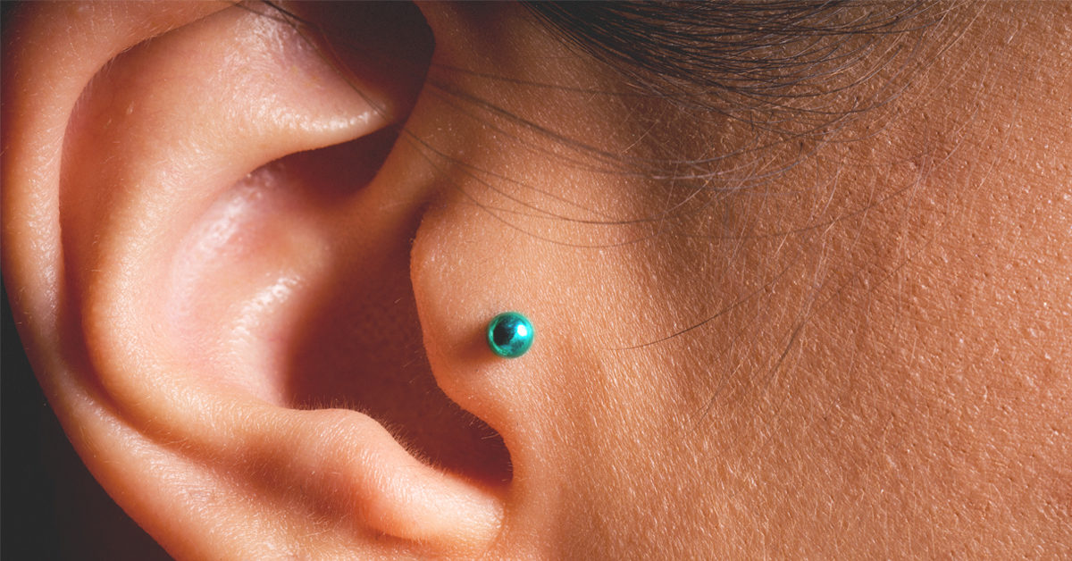 Tragus Piercing Pain Levels Coping And Piercing Aftercare