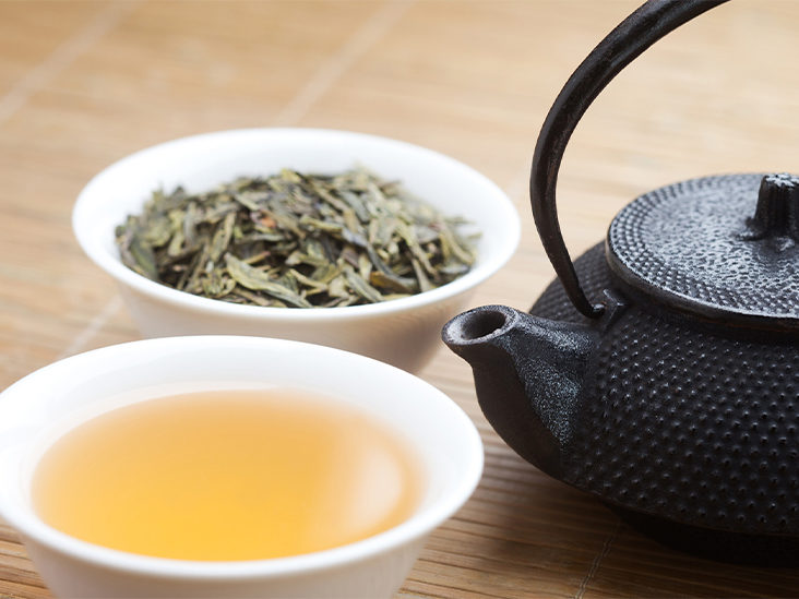 is diet green tea bad for you?