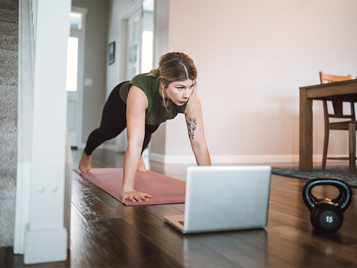 30 At-Home Workout Moves: 20-Minute Set, All Levels, Without Equipment