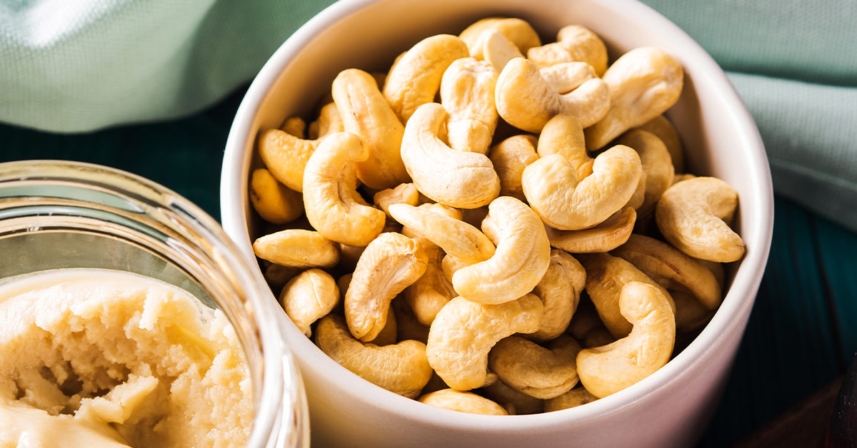 are cashews good for diets