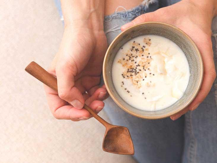yogurt on liquid diet