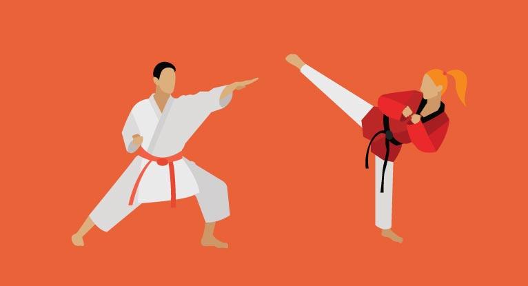 Karate Vs Taekwondo Similarities And Differences