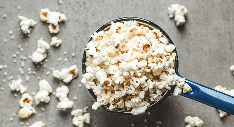 is popcorn bad when dieting
