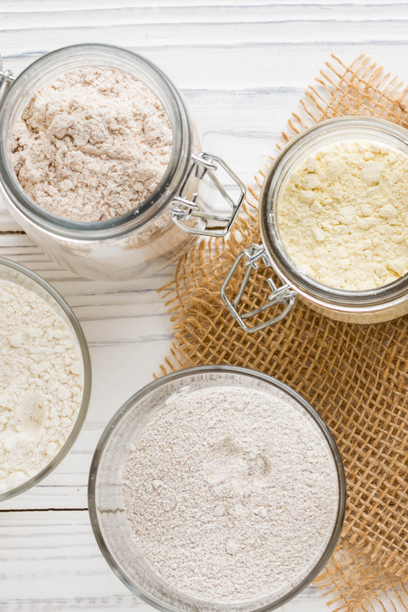 6 Gluten-Free Flours That Will Rock Your Baking World
