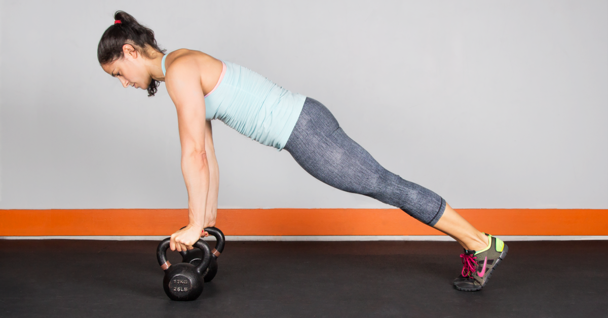 Kettlebell Workout For Women Legs Shoulders Chest Core
