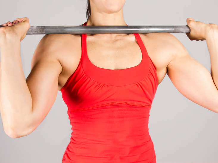 Barbell Exercises: Beginner Barbell Workout for Back, Arms