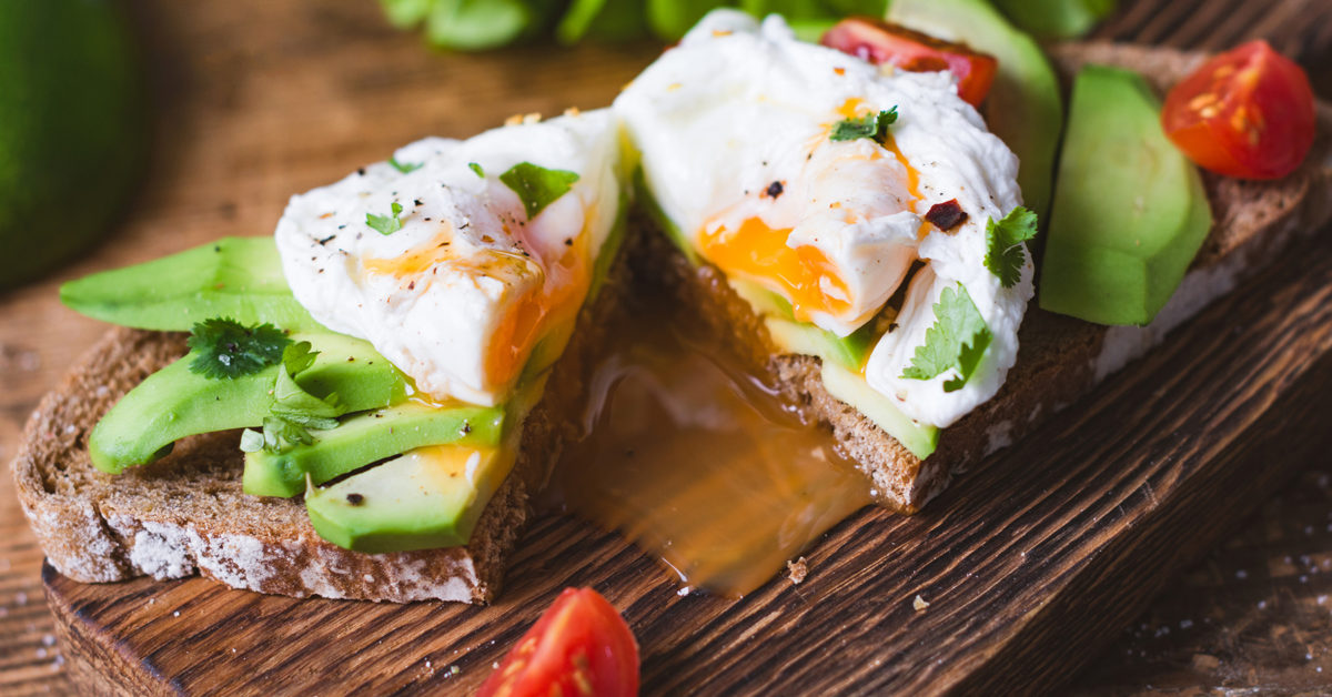 what can you have with poached eggs