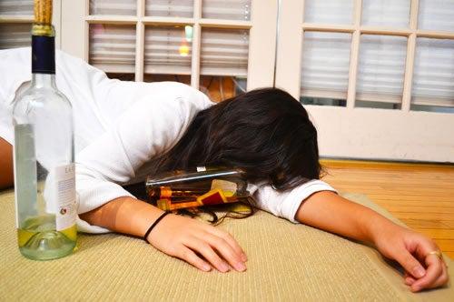 what happens when you blackout drunk