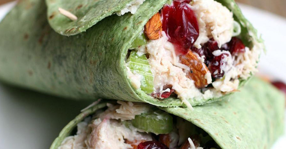 Healthy Lunch Wraps You Have to Try