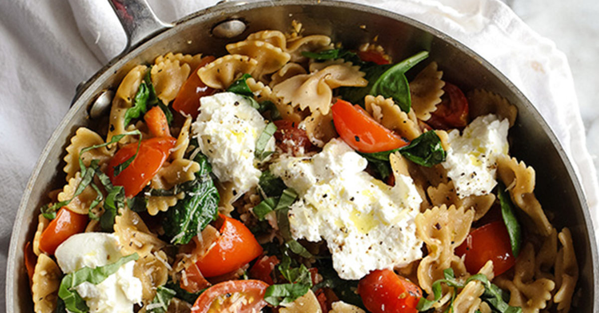 mediterranean diet recipes cheese tortellini