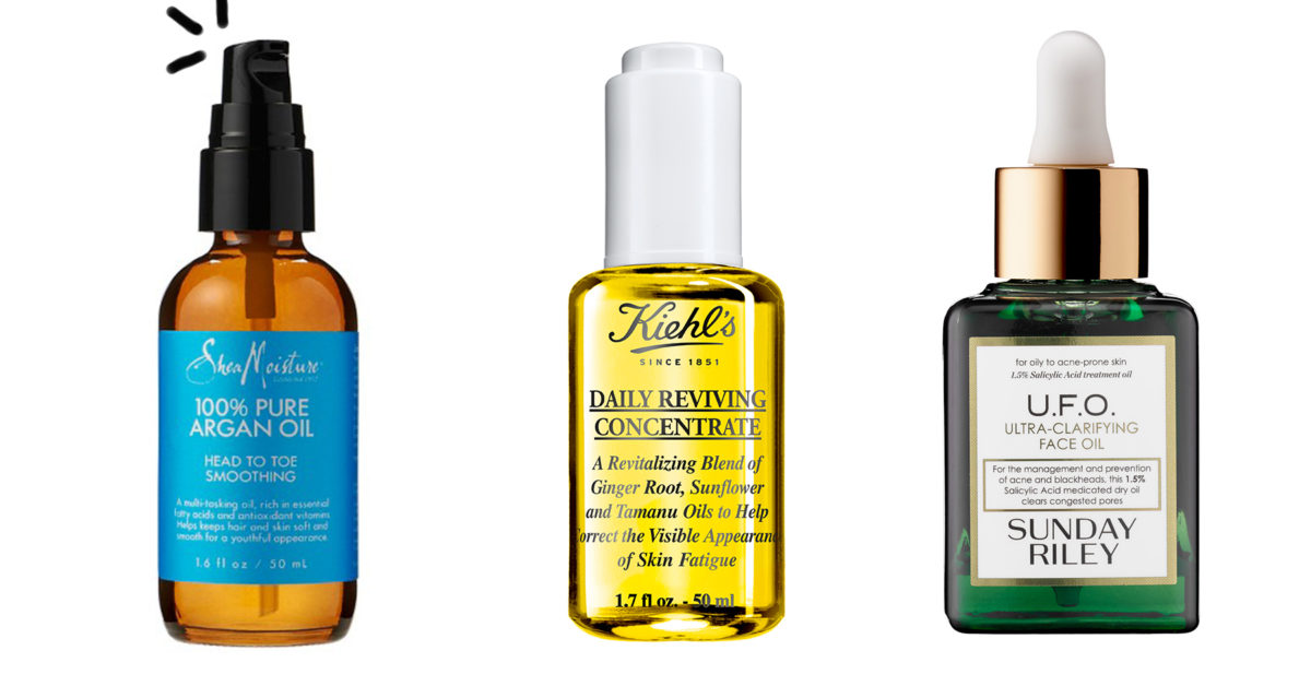 face oil for combination skin