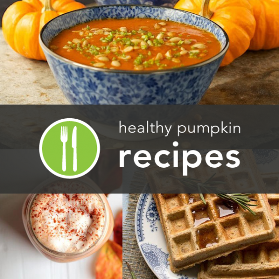 10 Healthy Pumpkin Recipes from Around the Web
