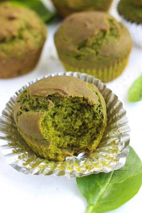 12. Gluten-Free Spinach Muffins
