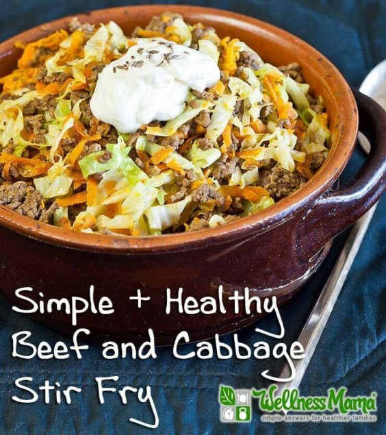 13. Beef and Cabbage Stir-Fry