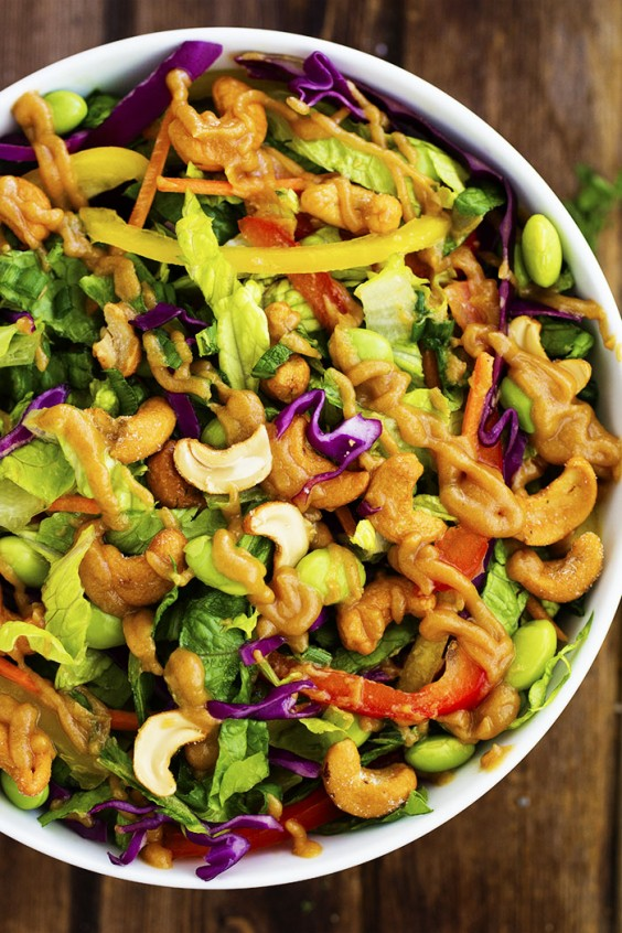 One Pot Meals: Thai Cashew Chopped Salad
