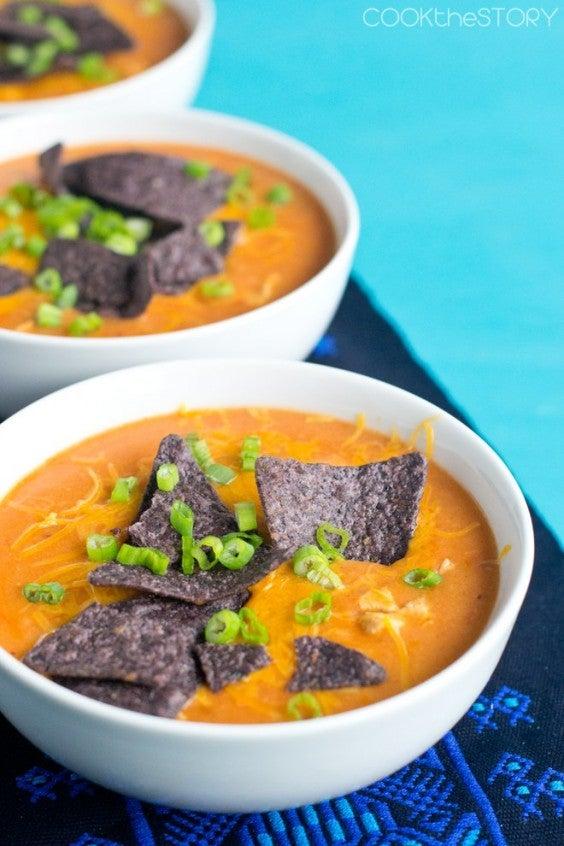 2. Chicken Enchilada Soup