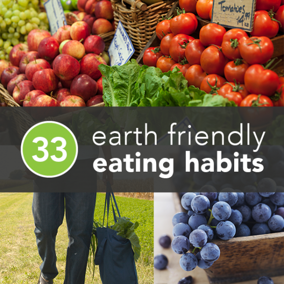 Environmentally Friendly Eating Habits