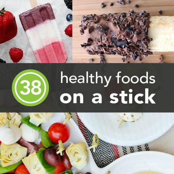 38 Healthy Foods On A Stick