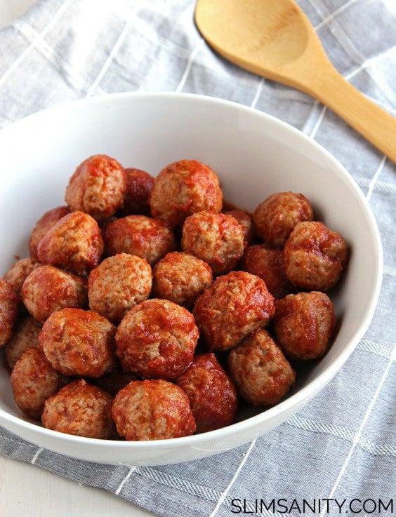 3. Tangy Turkey Meatballs