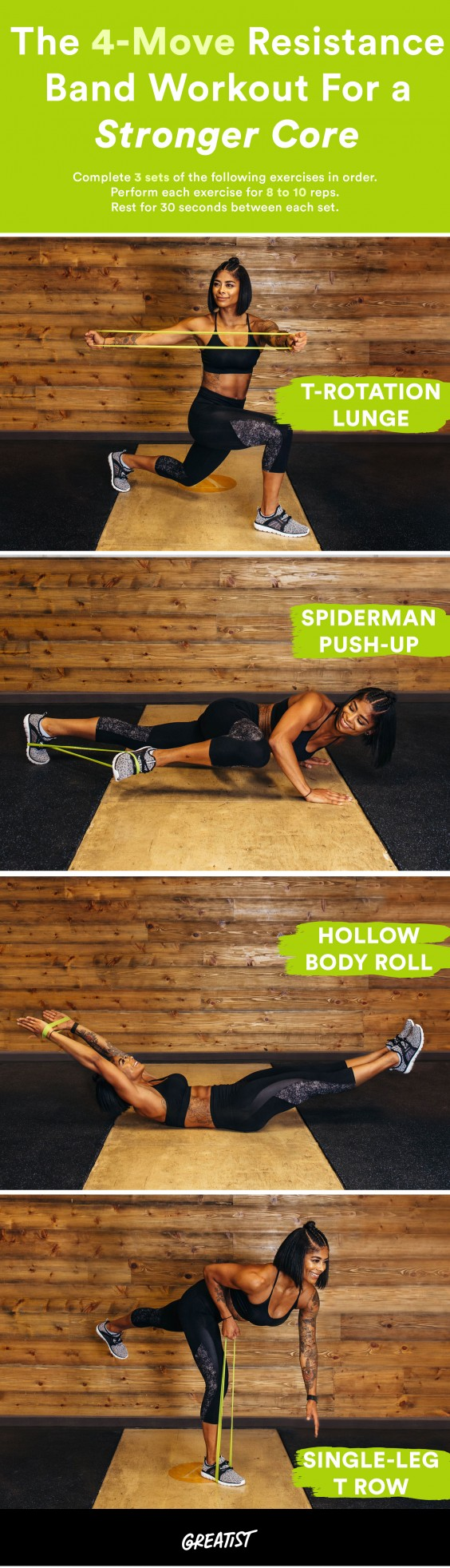 Resistance Band Ab Workout 9 Trainer Approved Moves For Your Core