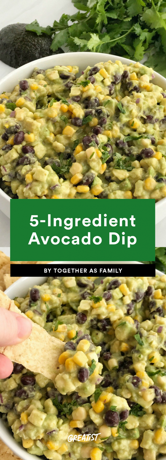 5-Ingredient Avocado Dip