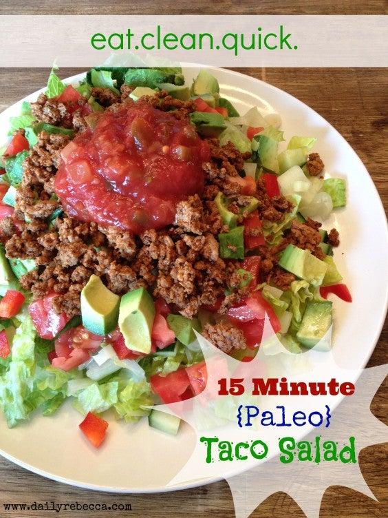 7. Paleo Taco Salad