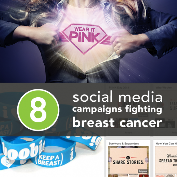 8 Social Media Campaigns Fighting Breast Cancer