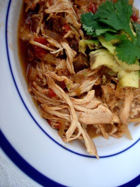 8. Enchilada Chicken Stew