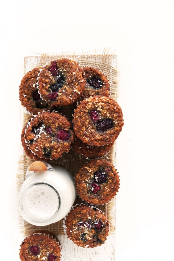 8. Berry Coconut Muffins