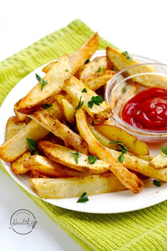 8. Air-Fryer French Fries