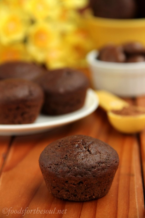19. Milk Dud Mini Muffins
