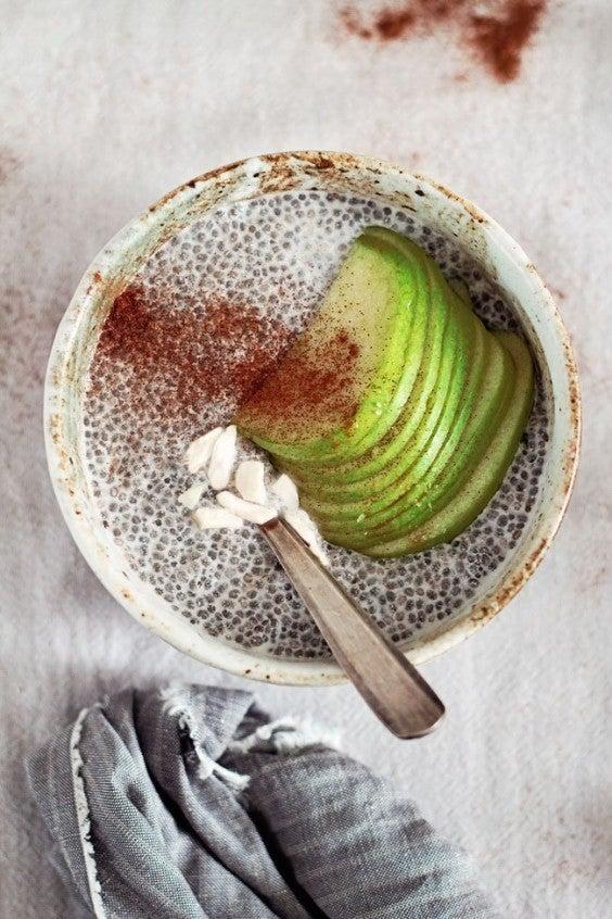 Apple Cinnamon Chia Seed Pudding