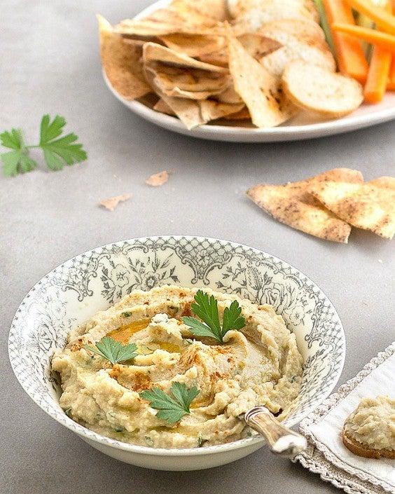 8. Artichoke and White Bean Dip