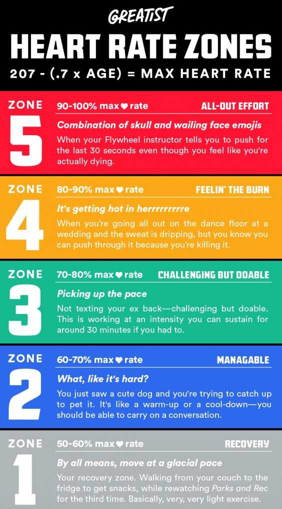 Heart Rate Zones How Knowing Your Heart Rate Can Improve Your Workout