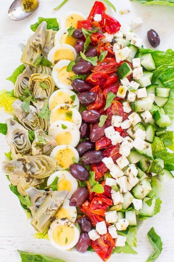 8. Mediterranean Cobb Salad