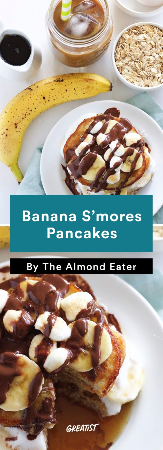 S'mores: Pancakes
