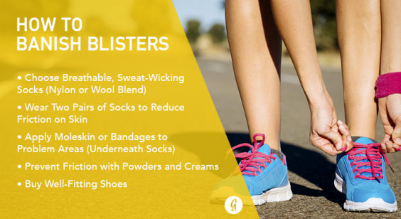 Blisters The Runner S Guide To Prevent And Treat Blisters