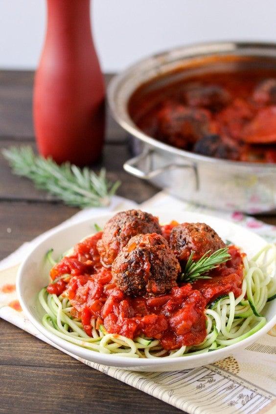 14. Chia Meatballs With Easy Marinara