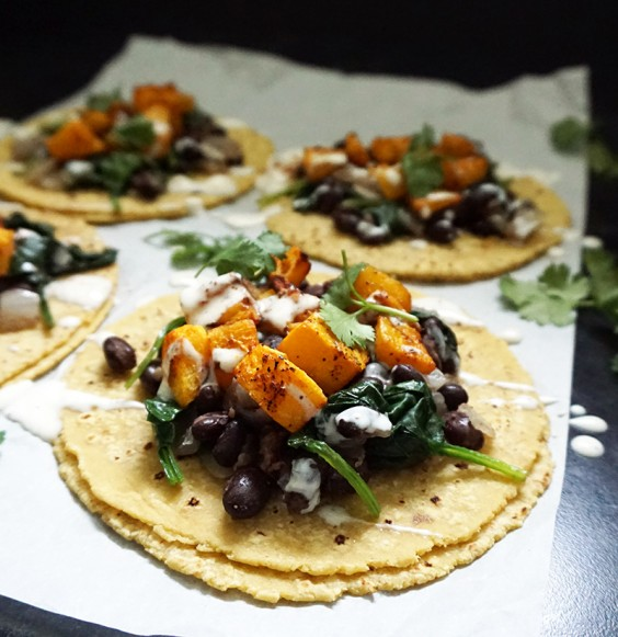 11. Butternut Squash Tacos