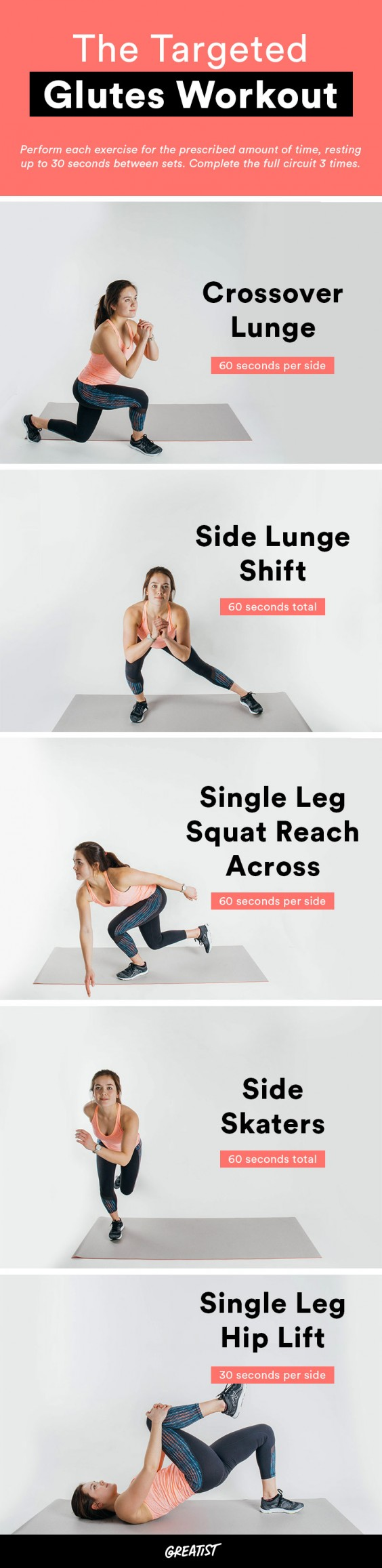 Butt Workout: 24 Simple Glute Exercises You Can Do Almost