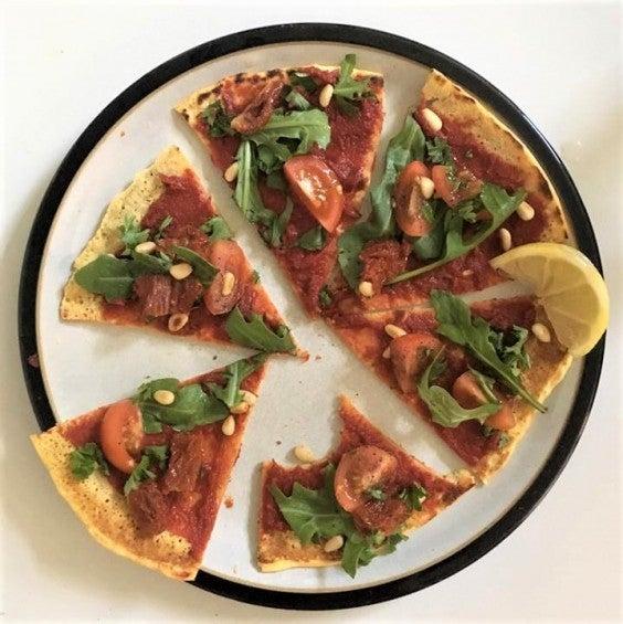 20. Chia Socca Inspired Pizza