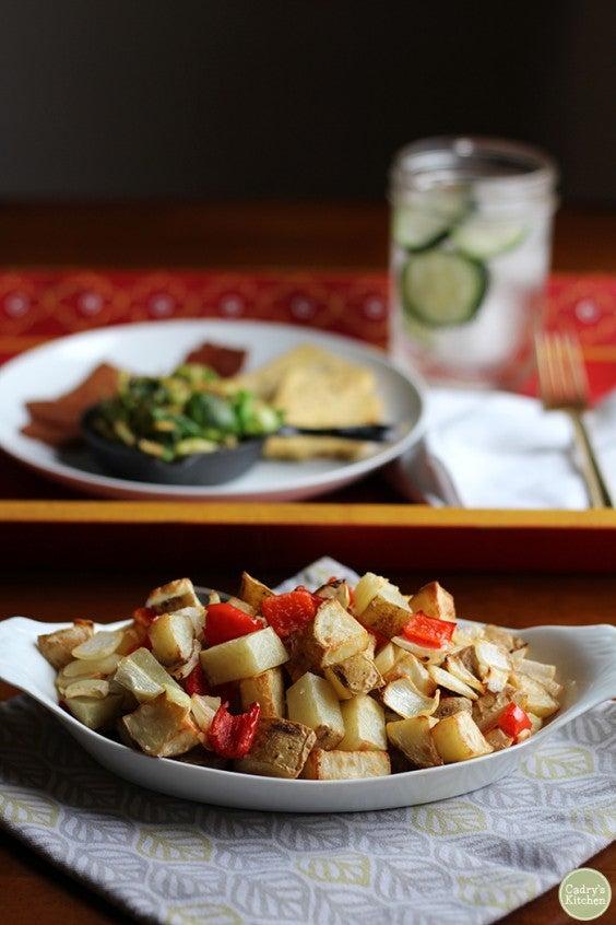 3. Breakfast Style Air Fryer Potatoes