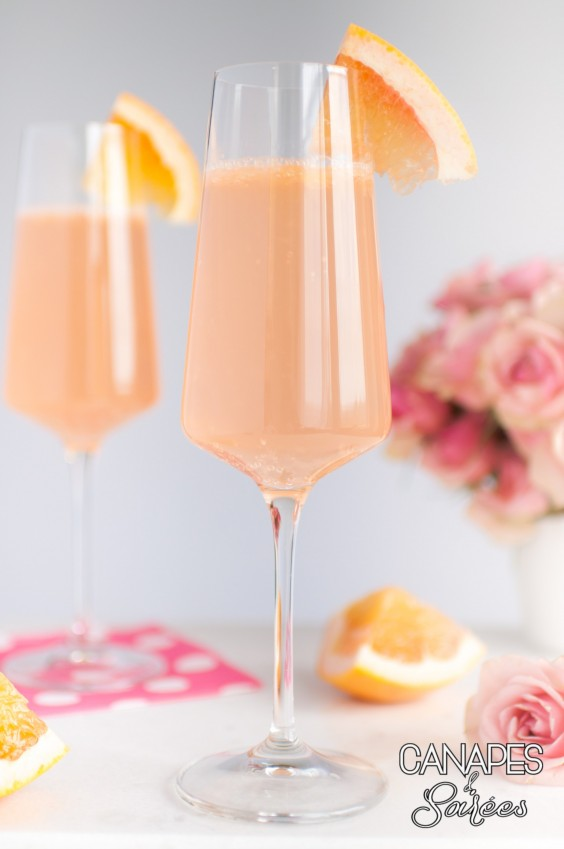 4. Blushing Grapefruit Rosé Cocktail