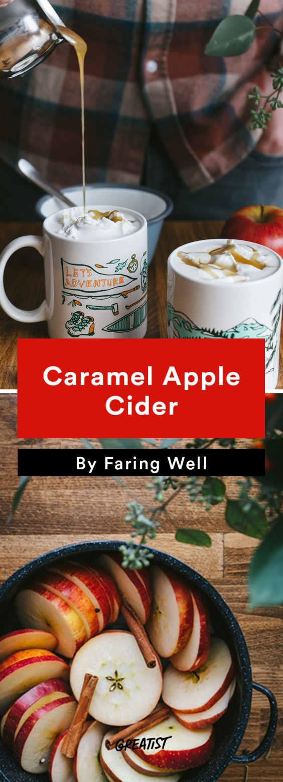 faring well: Caramel Apple Cider