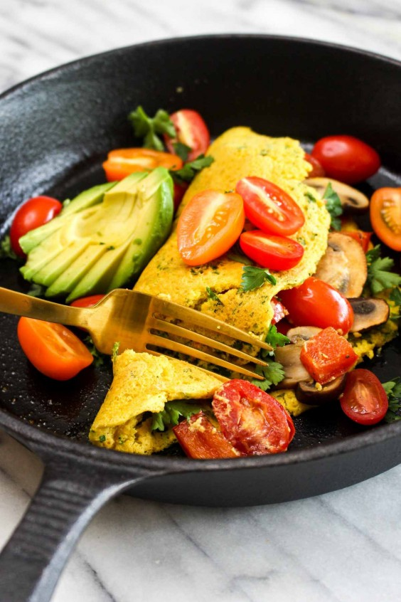 7. Best Ever Vegan Omelet