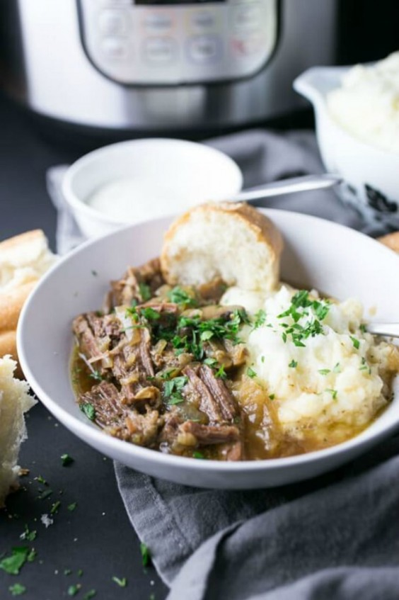 5. Pressure Cooker French Dip Bowl