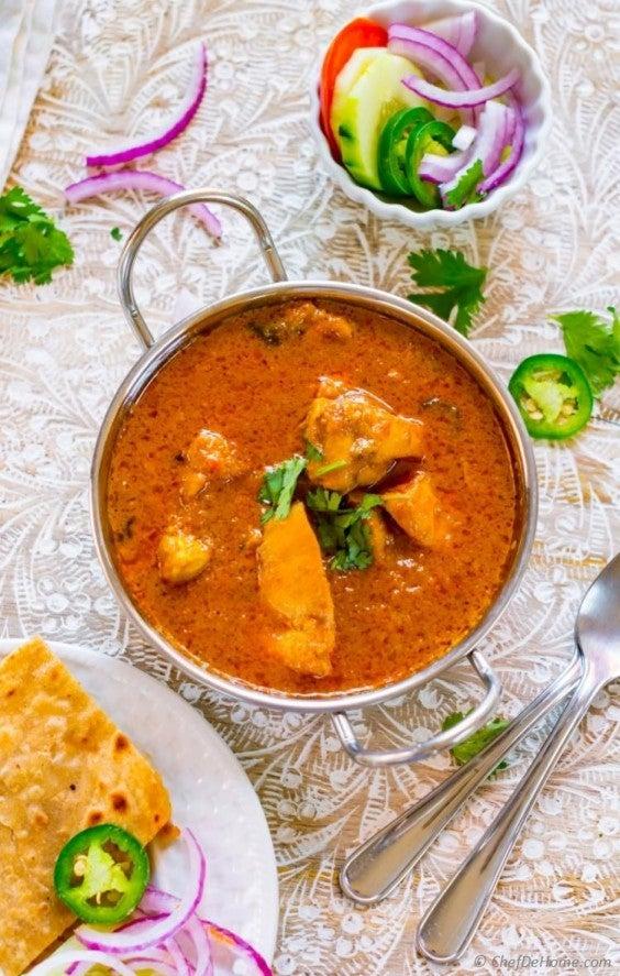 3. Yogurt Chicken Curry